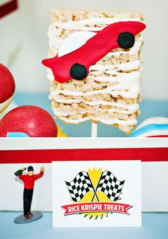 Bold, Fast & Classic Race Car Birthday Party