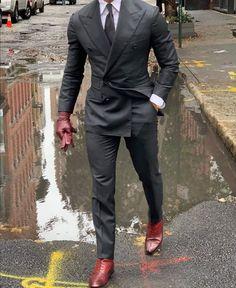 Suit Vest, Blazer Suit, Blazer Jacket, World Of Fashion, Mens Fashion, Cheap Suits, Classic Man, British Style, Wedding Suits