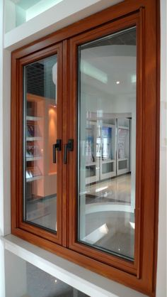 ventanas de madera - Buscar con Google Sliding Window Design, Wooden Window Design, Wooden Glass Door, Window Glass Design, Window Grill Design, Wooden Windows, Wooden Doors, Windows And Doors, Sliding Windows