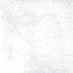 Carrelage intérieur Polaire en grès émaillé, blanc, 31.6 x 31.6 cm