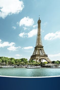 Paris, je t'aime! RE-PIN if you're dreaming of a Parisian ocean vacation!