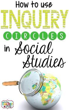 Learn how to use inquiry circles in Social Studies class. Great for reviewing topics, and teaching the Common Core.