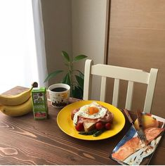 pinterest @cathryn_baldwin Tasty, Yummy Food, Healthy Food, Always Hungry, Morning Food, Breakfast Time, Aesthetic Food, Cute Food, Food Inspiration