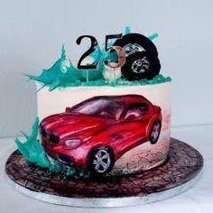 Cake for automechanics. 17 Birthday Cake, 17th Birthday, Bmw Cake, Car Cakes For Men, Planes Cake, 21st Bday Ideas, Basic Cake, Holiday Cakes, Birthday Squad Shirts