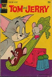 Whitman comics Tom and Jerry