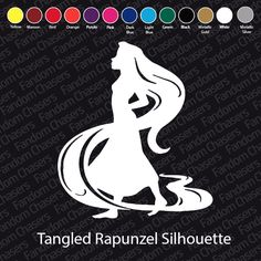 Tangled Decals by FandomChasers on Etsy