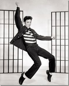 "Elivis in ""Jailhouse Rock"""