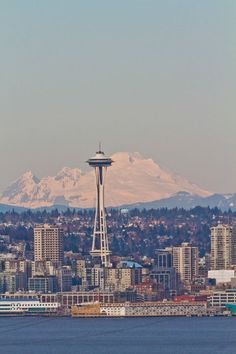 Photo view of Seattle