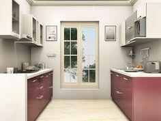 Dylan Parallel Modular Kitchen #ParallelModularKitchen  #ParallelKitchendesign #ModularKitchendesign