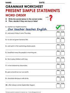 English Grammar Present Simple: Questions - Word Order www.allthingsgrammar.com/word-order.html