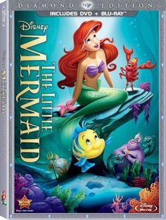 The Little Mermaid Blu-ray + DVD