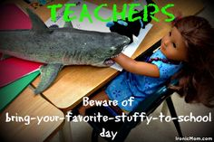 Shark found in elementary classroom. #humor http://ironicmom.com/2014/01/22/jaws-at-school/