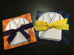 Karate Belt Martial Arts or Tae Kwon Do Invitation | Kids' Birthday Party | Customizable for any belt color!
