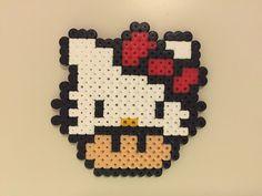 perler bead mushroom Hello Kitty