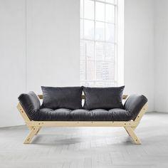 Canapea extensibila Bebop Velvet Unfinished Gray #homedecor #interiordesign  #inspiration #velvet #catifea Velvet, Couch, Grey, Furniture, Home Decor, Gray, Settee, Decoration Home, Sofa