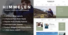 Our themes have versions for OpenCart, Magento and WordPress. Himmelen – Fast Clean theme for Personal WordPress Blogging Himmelen is one of the most Elegant, Clean and Creative WordPress bl...