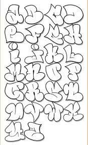 Resultado de imagen para letras de graffitis