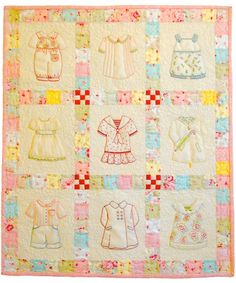 I can't wait to start this.  Betsy's Closet by Acorn Quilts & Gift Company.