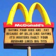 McDonalds got a point !
