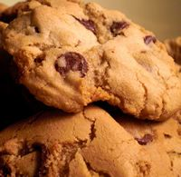 Chocolate Chip Cookies - what's wrong with that! Add dried fruit and orange zest for something different