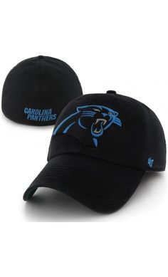 NFL Men s Carolina Panthers  47 Black Franchise Fitted Hat 6f423fa46