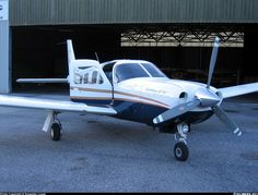 Piper saratoga. I get to fly on one of these Tomorrow!!!! So excited!!!