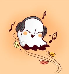 Little Napstablook By Mudkipful Aww he's so cute and look how happy he is! The feels! X3