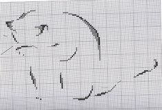 Hint of cat cross stitch