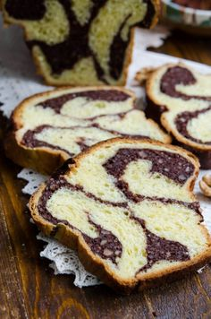 Cozonac cu aluat oparit23 Different Cakes, Beignets, Nutella, Pancakes, French Toast, Cooking Recipes, Bread, Cookies, Breakfast