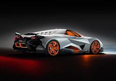 Lamborghini Egoista Concept Sports Car for 50th Anniversary
