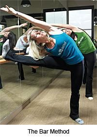 Allison McCurdy and Erin Mulooly at Bar Method San Diego Pt. Loma