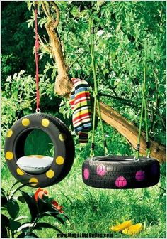 25 Creative Ideas To Reuse Old Tires | Amazing Online Magazine