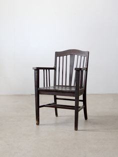 SALE Vintage Wood Chair / Arts & Crafts Furniture