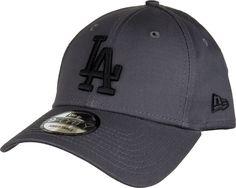 7ac0aa6f5557b LA Dodgers New Era 940 League Essential Baseball Cap - Grey Black