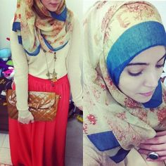 HIJAB FASHION - already pinned this twice lol, just love the outfit!