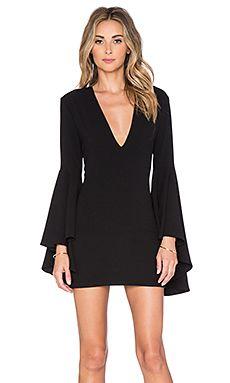 Backstage Farrah Dress in Black