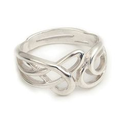 With its lovely art nouveau style, organic design, this contemporary Celtic ring is sure to attract attention. The ring is crafted by hand by Ortak on the island of Orkney off the north of Scotland. Ortak have a long and distinguished history of making inspiring jewellery designs, using traditional jewellery making methods.