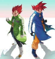 🤷🏾♂️ had to tho. Dragon Ball Gt, Art Gundam, Manga Dbz, Illustration Studio, Couples Anime, Character Art, Character Design, Dragon Images, Akira