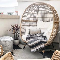 Southport Patio Egg Chair – Opalhouse : Target Finds - Home Decor Home Design, Bedroom Chair, Bedroom Decor, Small Balcony Decor, Quirky Home Decor, Patio Chairs, Beach Chairs, Dining Chairs, Adirondack Chairs