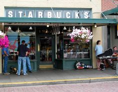 The original Starbucks in Pike Place Market