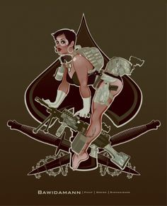 Andrew Bawidamann PORTFOLIO   MILITARY PINUP > ACES HIGH