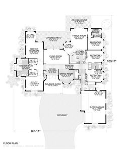 Custom Home Plans, Architectural House Design Plans, Great House Design - greathousedesign.com