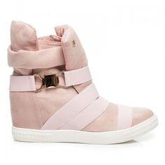 Dámské kotníkové boty Poety růžové – růžová Krásné kotníkové boty na zimu nejsou jen sen. Dámské sportovní boty na platformě se skrytým klínkem jsou vylepšeny ozdobnou sponou. Vices je mladou značkou, která ví, že je …