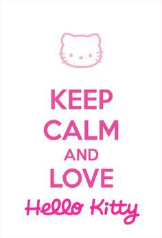 keep calm Hello Kitty Hello Kitty Fotos, Hello Kitty Art, Hello Kitty Birthday, Minecraft Crafts, Art Minecraft, Skins Minecraft, Hello Kitty Pictures, Kitty Images, Hello Kitty Wallpaper