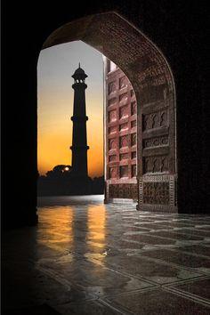 Inside the Taj Mahal, India
