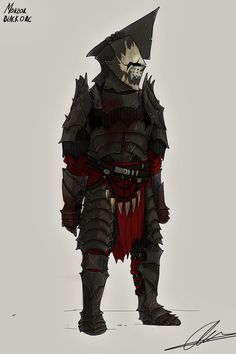 Mordor Black Orc by Taurus-ChaosLord on DeviantArt