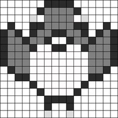 Fly Sprite Pokemon Red Green And Blue Perler Bead Pattern / Bead Sprite