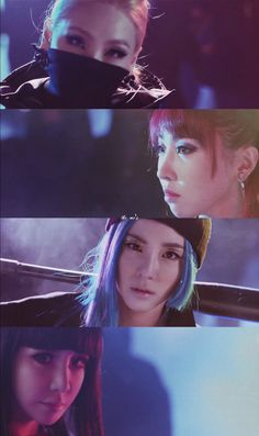 2NE1 - COME BACK HOME MV