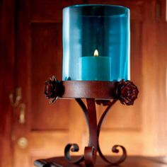 ༻❁༺ ❤️ ༻❁༺ Turquoise Candle Holder   King Ranch ༻❁༺ ❤️ ༻❁༺