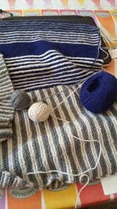Ravelry: silviaknit63's royally striped